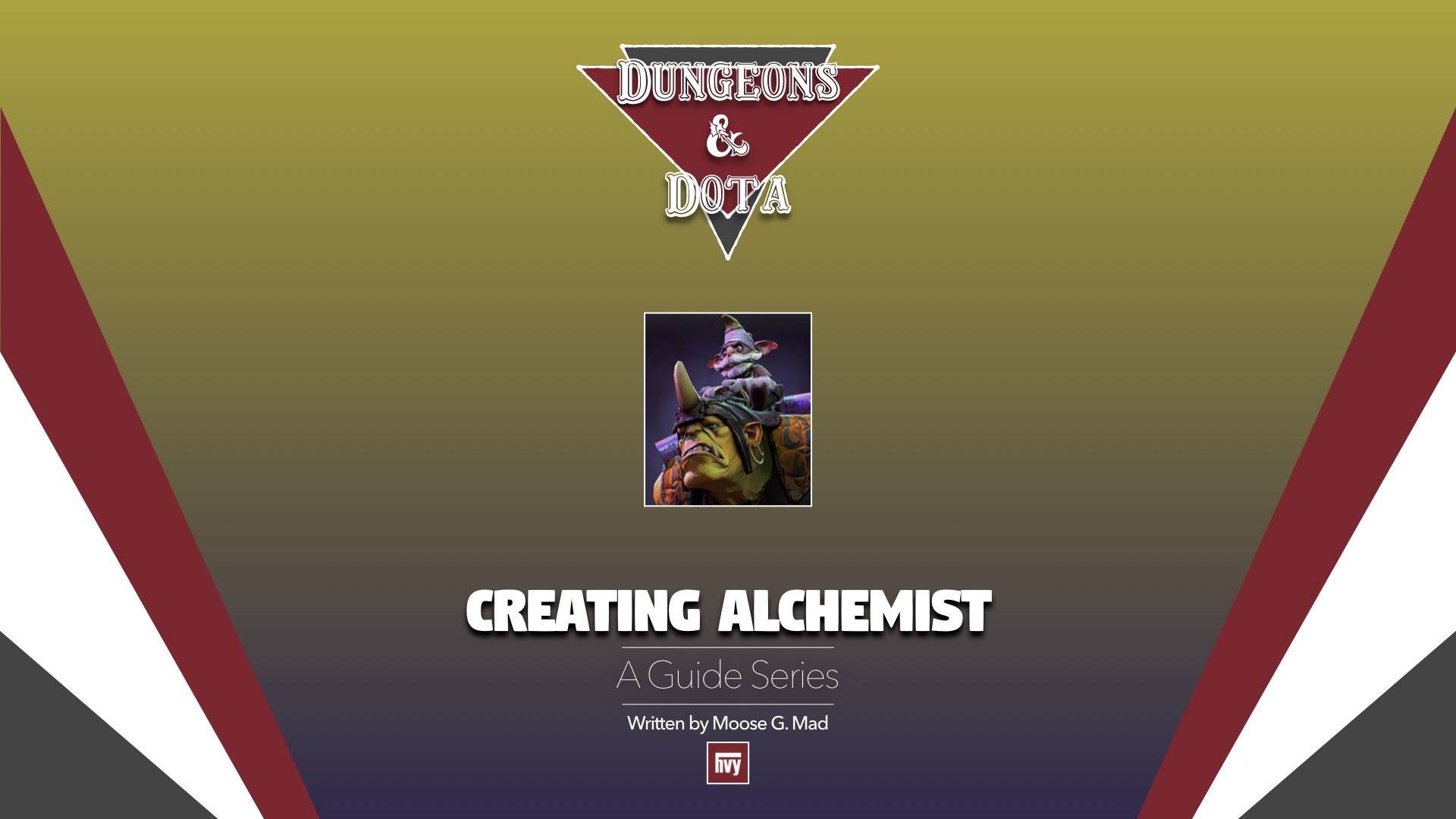 Dungeons and DotA: Creating Alchemist