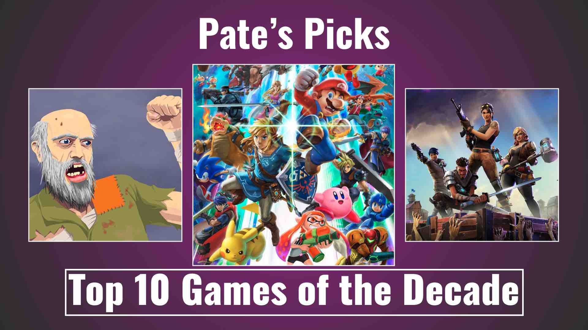 Pate's Picks for Top 10 Games of the Decade